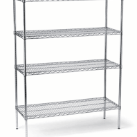 Chrome Plated Wire Shelving